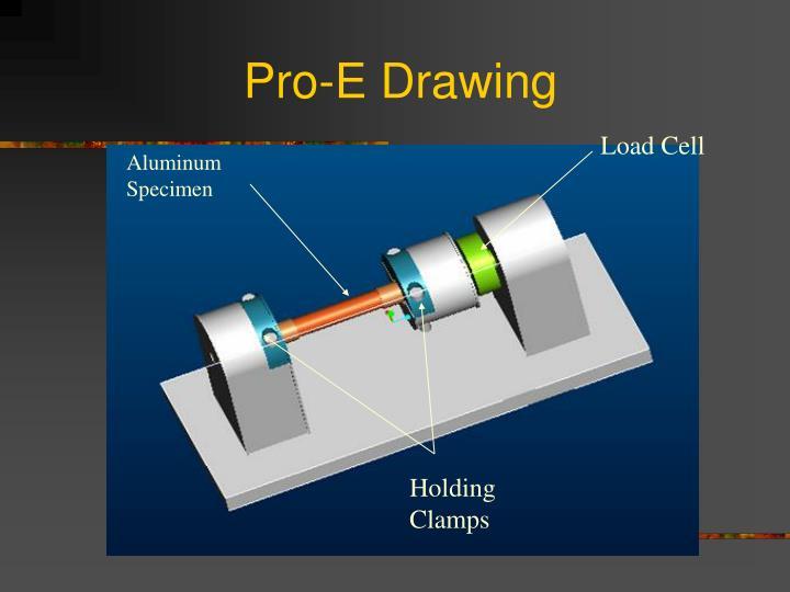 Pro-E Drawing