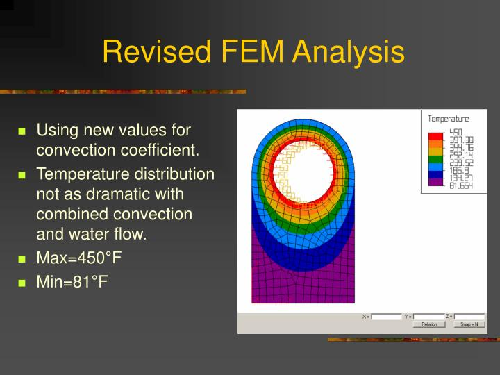 Revised FEM Analysis