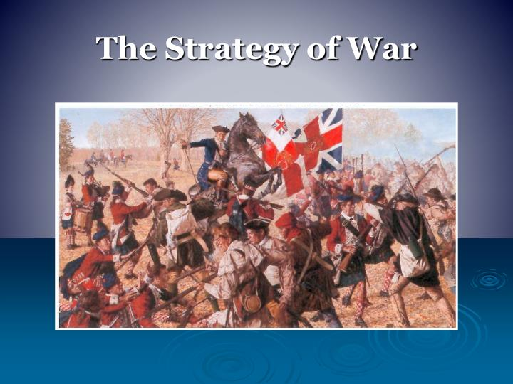 The Strategy of War