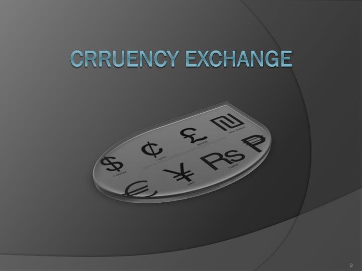 Crruency Exchange