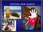 getting new habits