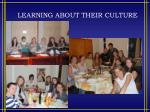 learning about their culture