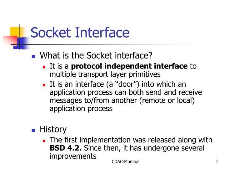 Socket Interface