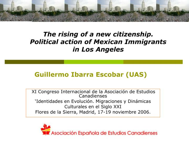 The rising of a new citizenship.