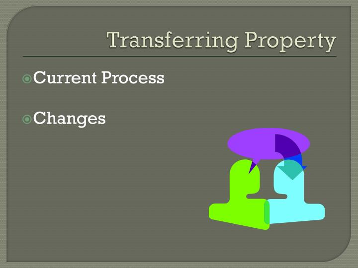 Transferring Property