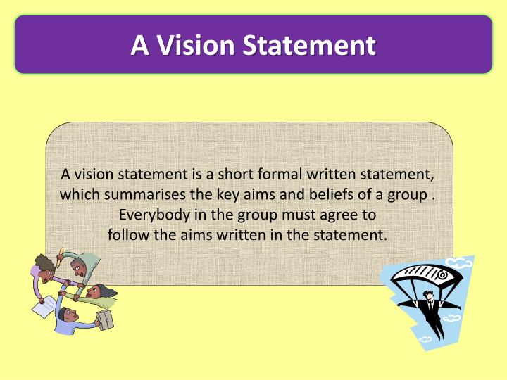 A Vision Statement