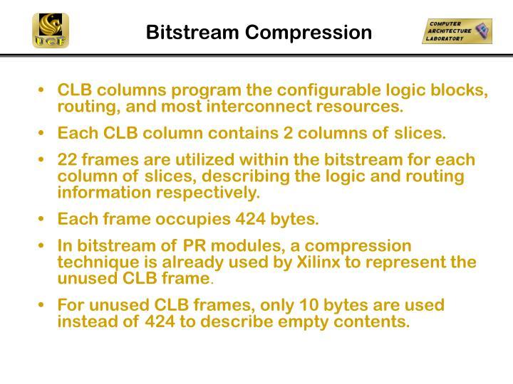 Bitstream Compression