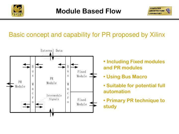 Module Based Flow