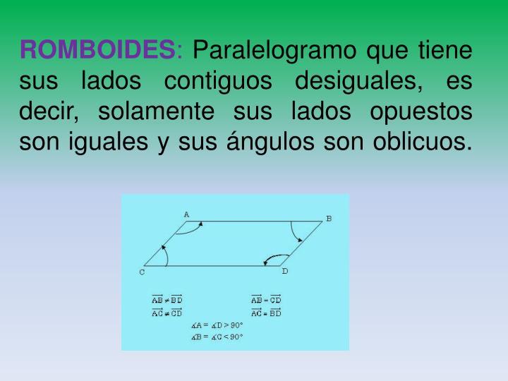 ROMBOIDES