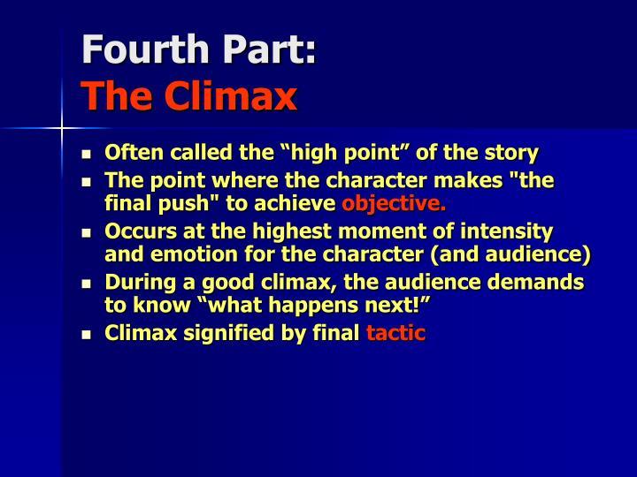 Fourth Part: