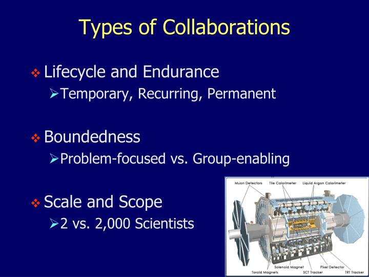 Types of Collaborations