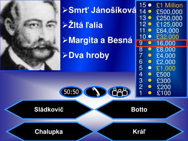 Smrť Jánošíková