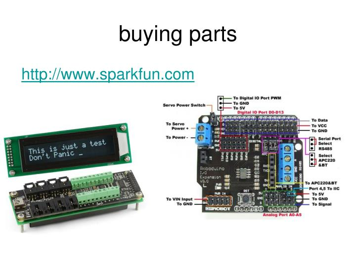 buying parts