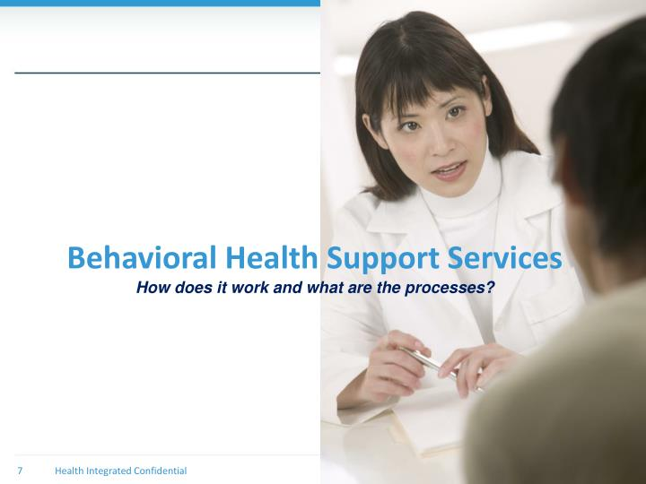 Behavioral Health Support Services