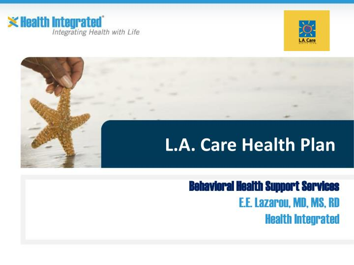 L a care health plan