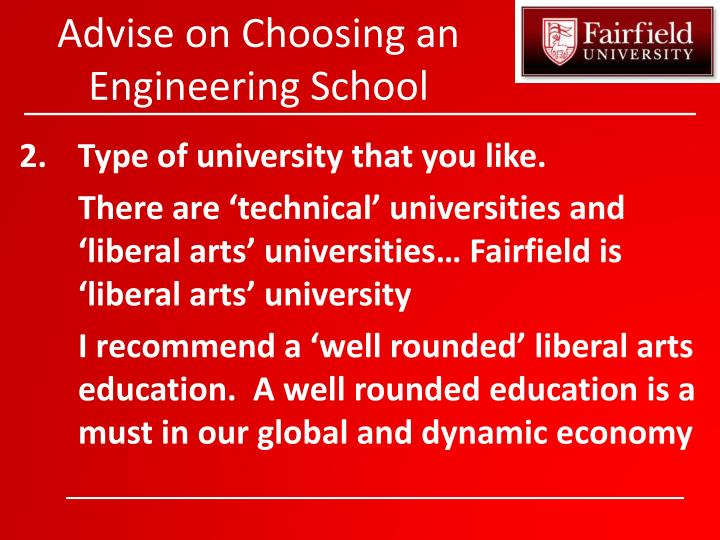 Advise on choosing an engineering school1