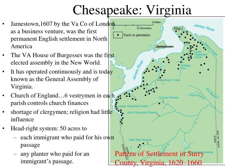 Chesapeake: Virginia