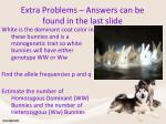 extra problems answers can be found in the last slide1