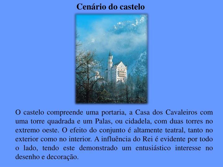 Cenário do castelo