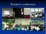 teacher s conference