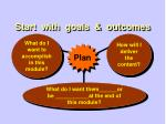 start with goals outcomes2