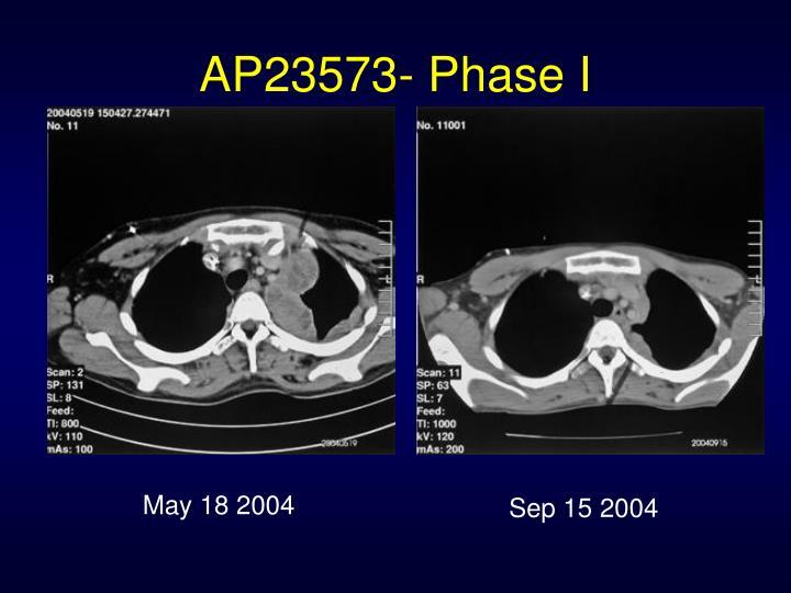 AP23573- Phase I