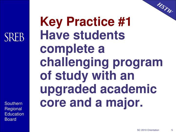 Key Practice #1