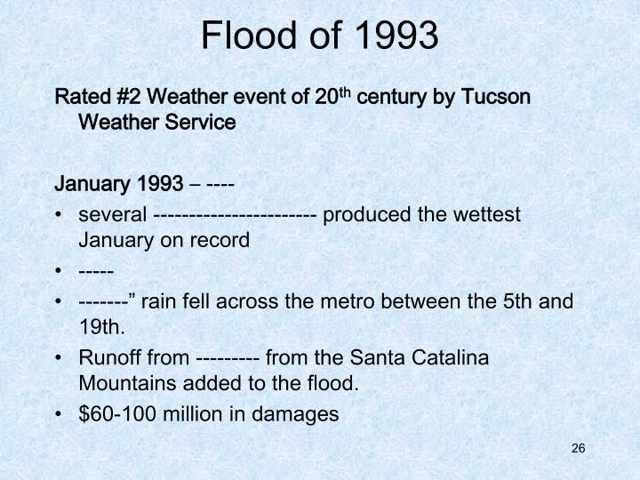 Flood of 1993