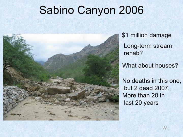 Sabino Canyon 2006