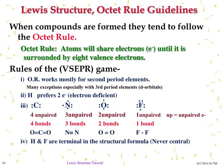 PPT - Drawing Lewis Structures PowerPoint Presentation ...