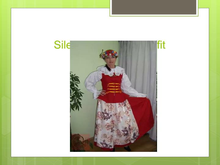Silesian woman's outfit