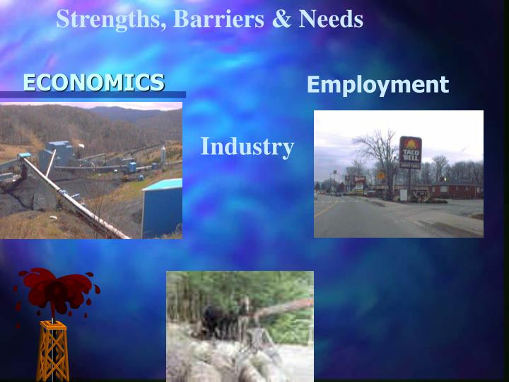 Strengths, Barriers & Needs