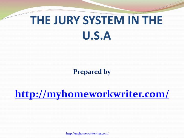 the history of the jury system essay