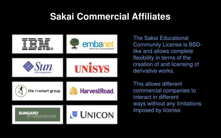 Sakai Commercial Affiliates