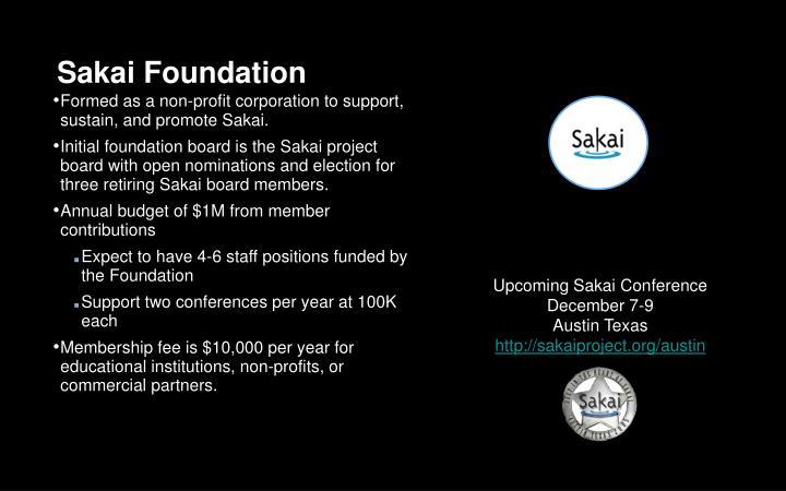 Sakai Foundation