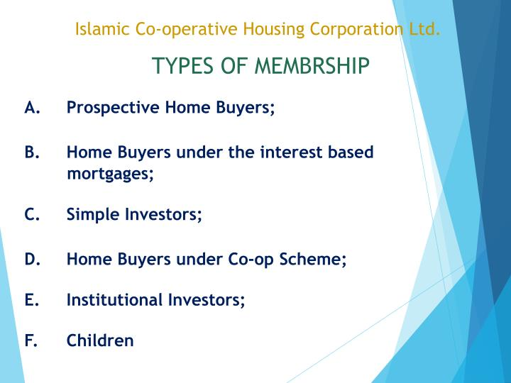Islamic Co-operative Housing Corporation Ltd.