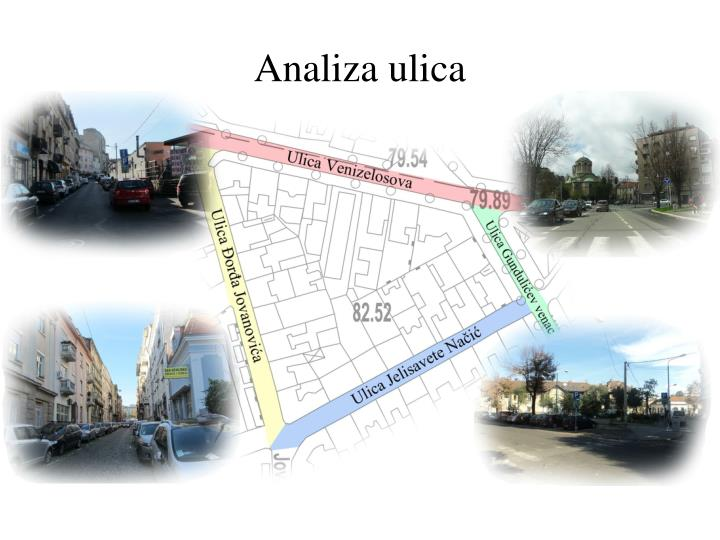 Analiza ulica