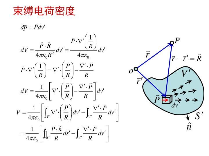 束缚电荷密度