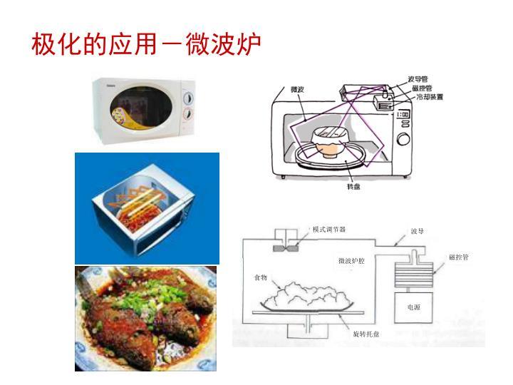 极化的应用-微波炉