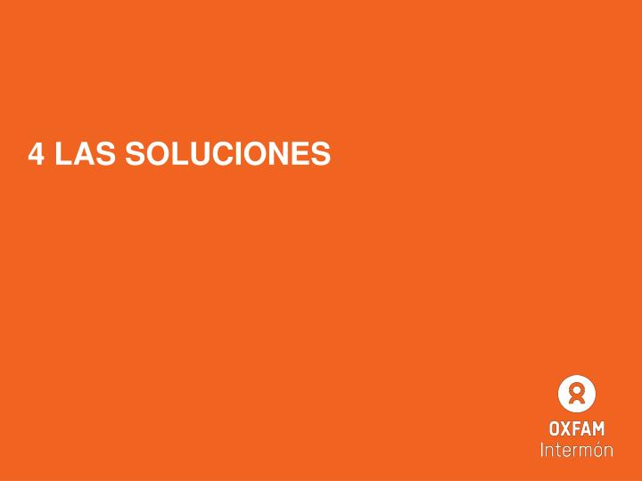 4 LAS SOLUCIONES