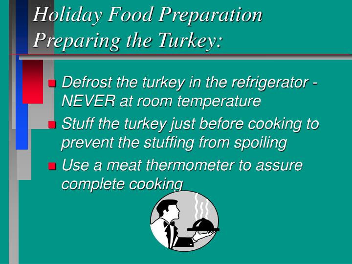 Holiday Food Preparation