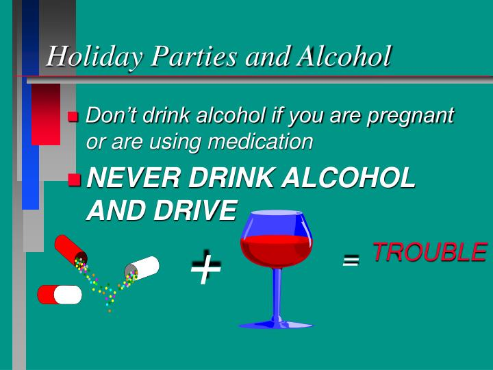 Holiday Parties and Alcohol
