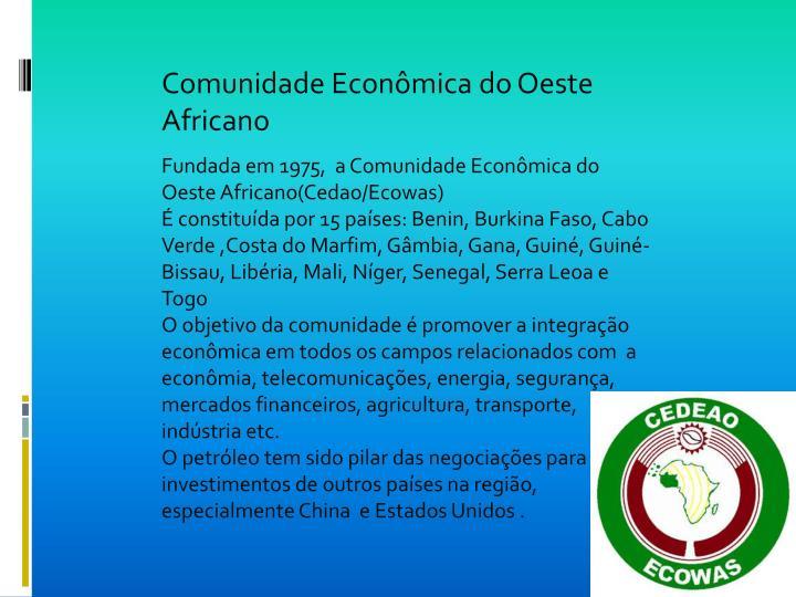 Comunidade Econômica do Oeste Africano