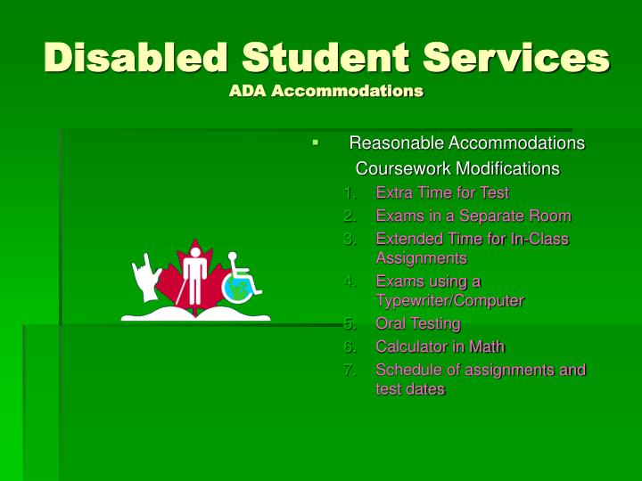 Disabled Student Services