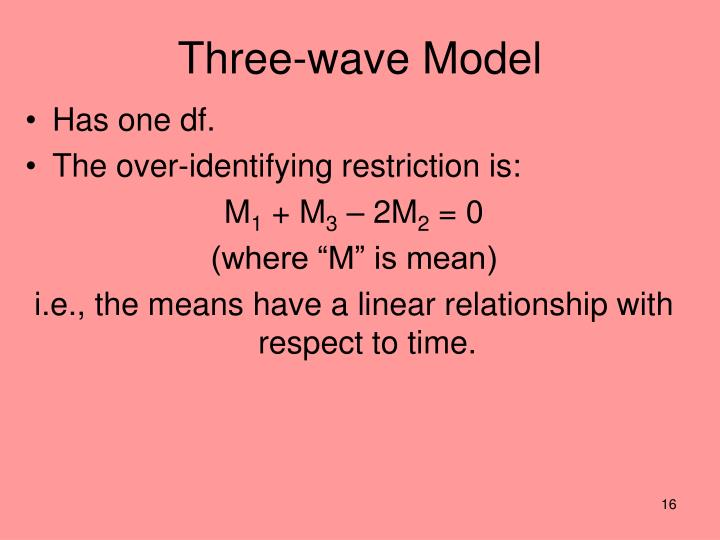 Three-wave Model