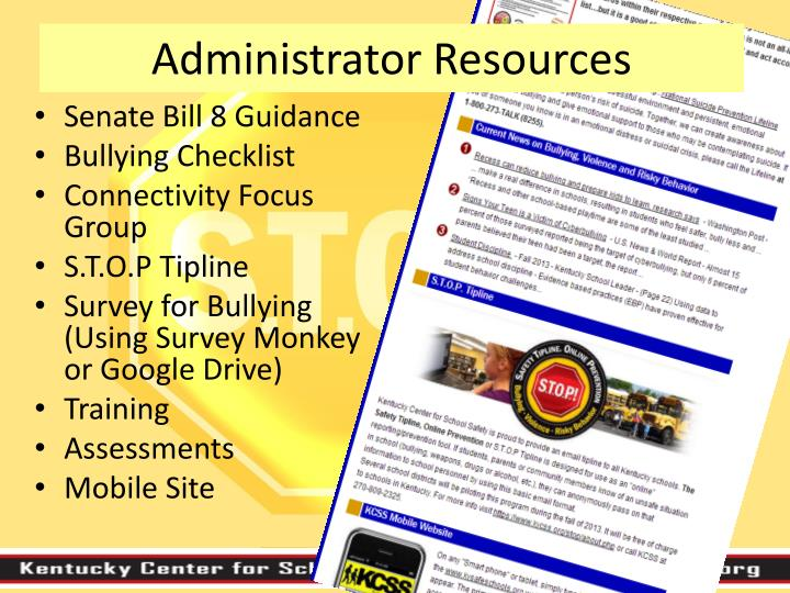 Administrator Resources