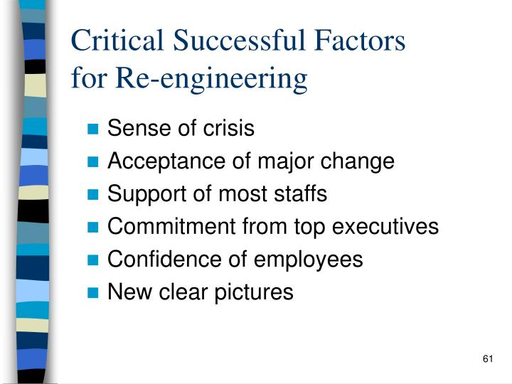 Critical Successful Factors