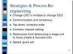 strategies process re engineering