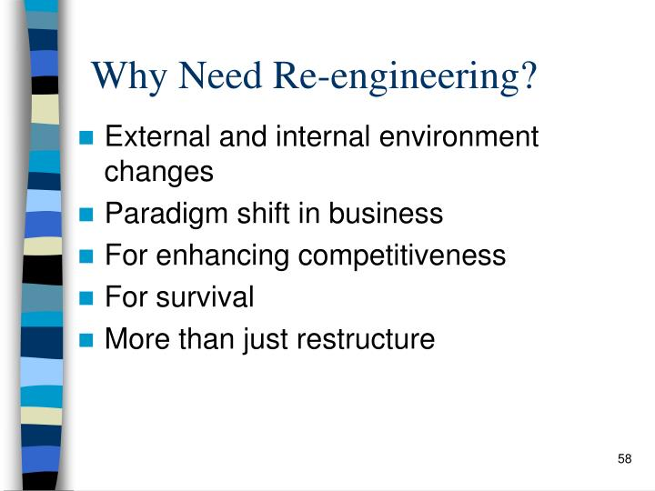 Why Need Re-engineering?