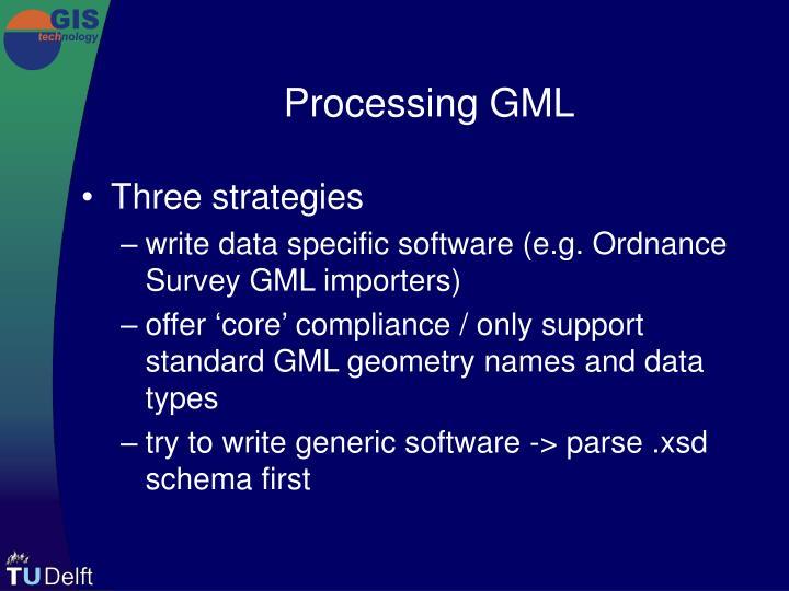 Processing GML